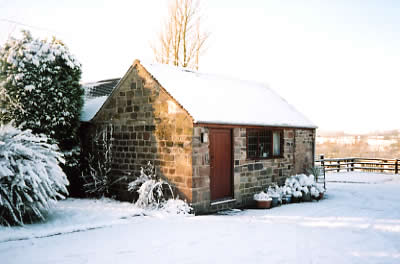 Cordwainer cottage in winter